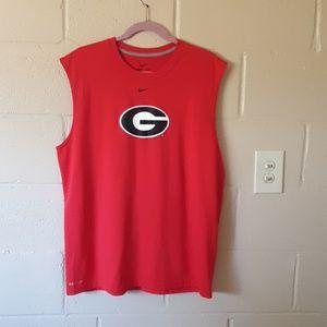 Nike Georgia Bulldogs Tank Top